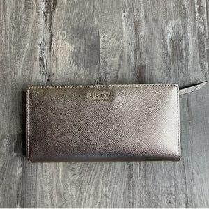 NEW Kate Spade Cameron Street Rose Gold Wallet